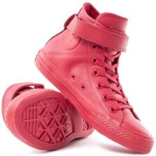 NEW Converse Women's Chuck Taylor Brea Leather High Top Fashion Sneakers US 9