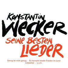 """KONSTANTIN WECKER """"SEINE BESTEN LIEDER"""" CD NEUWARE!!!!!"""