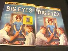 Big Eyes - DVD + Digital HD UV + Limited Edition 32 Page Mini Book -  Sleeve NEW