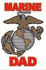 Marine Dad Decal Sticker