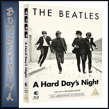THE BEATLES - A HARDS DAY'S NIGHT- 50TH ANNIVERSARY  * BRAND NEW BLU-RAY
