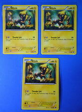 3x Blitzle 47/99 Pokemon TCG card BW Next Destinies common NM