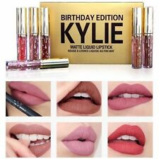 Kylie Jenner Compleanno Collezione 6 Mini Rossetto Lucidalabbra Set