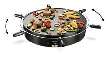 Princess Rotierender Table Chef 40 cm Elektrischer Tischgrill Teppan Yaki