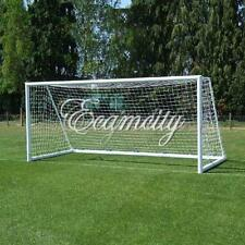 """D"" 12x6ft Full Size Football Net for Soccer Goal Post Junior Sports Training"