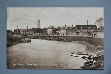 R&L Postcard: The Ferry Boston, , Boats, River, Earlier Card