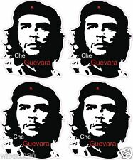 4 che guevara silhouette decals laptop car van bus truck mini sticker dub bike