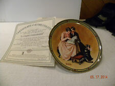 Knowles Collector Plate A Couples Commitment