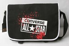Converse Buckle Flap Bag Canvas (Black)