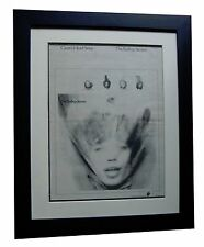 ROLLING STONES+Goats Head Soup+POSTER+AD+ORIGINAL 1973+FRAMED+FAST GLOBAL SHIP