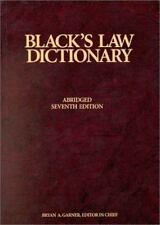Blacks Law Dictionary, 7th Edition