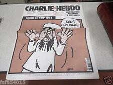 CHARLIE HEBDO N° 491 14 novembre couverture BEN LADEN sans les mains CHARB *
