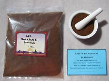 NEW MEXICO *HOT* RED JALAPENO CHILE POWDER  ONE POUND   *Free USA Shipping*