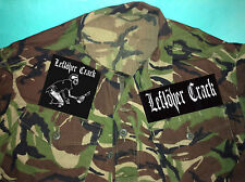 Restes crack rock the 40 oz. ska crust punk camouflage armée veste chemise commerce