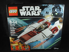LEGO Star Wars A-Wing Starfighter Ship New Sealed 75175