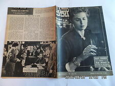 RADIO CINEMA TELEVISION N°340 22/07/1956 INGRID BERGMAN PIERRE FRESNAY  G13