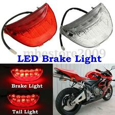 LED Tail Lights Brake Stop Turn Signal Lamps For Honda CBR600RR 04-07 2-Colors