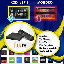 AMAZON FIRE TV BOX 4k with Kodi 17.1 & Mobdro MOVIES PPV XXX Live Tv SPORTS