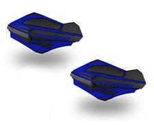 PowerMadd Sentinel Series Replacement ATV Handguards Hand Guard Blue Black 34404