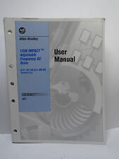 Allen Bradley AB 1336 IMPACT Adjustable Frequency AC Drive USER MANUAL ONLY 1997