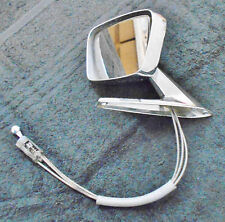 1967 1968 Ford Mustang GT GT-A Shelby Fairlane Comet ORIG LH REMOTE DOOR MIRROR