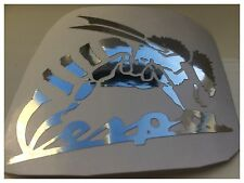 bespoke design vespa wasp  Scooter Decal    METALLIC CHROME