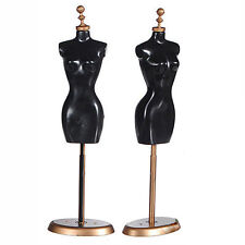 For Barbie Doll Display Holder Dress Clothes Gown Mannequin Model Stand