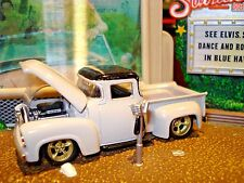 1956 FORD F-100 PICKUP TRUCK LIMITED EDITION CHOPPED STREET ROD TRUCK 1/64 M2