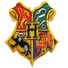 """Harry Potter Hogwarts Shield Logo Embroidered Iron-on patch 3"""""""