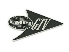 "VW Empi ""GTV"" Emblem Badge Boot Chrome Volkswagen T1 Special Edition Beetle Bug"