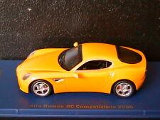 ALFA ROMEO 8C COMPETIZIONE 2006 YELLOW M4 1/43 JAUNE GIALLO AMARILLO