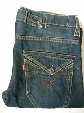 LEVI'S 503 MENS LOOSE JEANS STRAIGHT LEG W32 L32 STRAUSS BLUE LEVE545