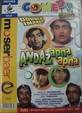 ANDAZ APNA APNA - (AAMIR KHAN,SALMAN KHAN) - NEW BOLLYWOOD DVD - FREE UK POST