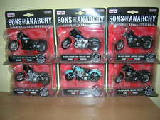 Maisto Harley-Davidson sons of anarchy jax Opie Clay Chibs JT Tig 6er set, 1:18