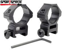 2pcs Tactical 30mm Ring Low QD 20mm Schienen-Bereich Taschenlampen Einfassung DE