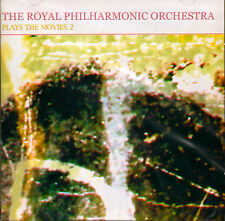 THE ROYAL PHILHARMONIC ORCHESTRA  -  PLAYS THE MOVIES 2  - NEW SEALED CD