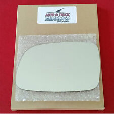 NEW Mirror Glass + ADHESIVE 99-04 JEEP GRAND CHEROKEE Driver Side **FAST SHIP**