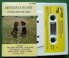 Devoted to You Billie Jo Spears Vicki Carr Solomon King + Cassette Tape - TESTED