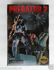 "NECA Predator 2, City Hunter 7"" Action Figure Classic 1992 Video Game Disc Skull"