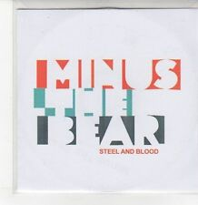 (DQ893) Steel and Blood, Minus The Bear - DJ CD