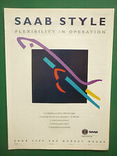 11/1996 PUB SAAB AIRCRAFT AB SWEDEN SAAB 2000 AIRLINER ORIGINAL ADVERT
