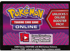 10x Pokemon Dark Explorers Code Cards for Pokemon TCG Online Booster Packs