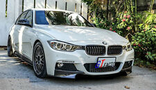 NEW FOR BMW F30 F31 M TECH M SPORT ONLY CARBON FRONT LIP SPOILER SPLITTER