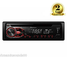 Pioneer DEH-1800UB Car CD MP3 Stereo USB Aux Android Player Red Illumination