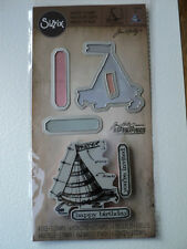 TIM HOLTZ FRAMELITS WITH STAMPS CELEBRATE SET BNIP *LOOK*
