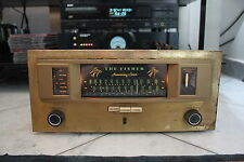 "Vintage, The Fisher 90r ""anniversery"" AM/FM Tube sintonizador,"