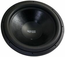 "Re Audio SX18D2 SX 18"" D2 2000 Watt Peak 1000W RMS Car Subwoofer Sub - USA Built"