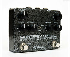 NEW KEELEY BLACK MONTEREY SPECIAL ROTARY FUZZ VIBE PEDAL w/ FREE CABLE 0$ US S&H