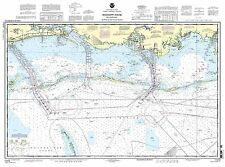 NOAA Chart Mississippi Sound and approaches Dauphin Island to Cat Island