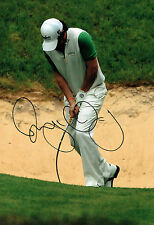 Rory McILROY Rare SIGNED AUTOGRAPH 12x8 Photo AFTAL COA Ryder Cup Winner